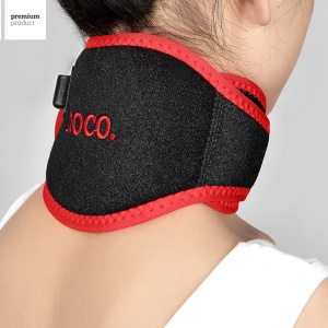 HOCO Portable Infrared Therapy Neck Brace Heating Pain Relief Strap Belt