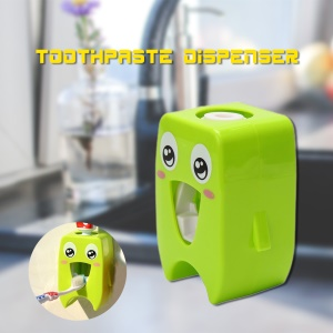 Adorable Cartoon Wall-mounted Automatic Toothpaste Dispenser