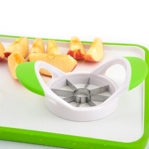 8-Blade Stainless Steel Apple Slicer Fruit Cutter Divider