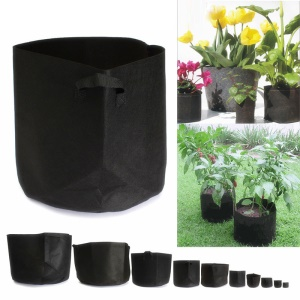 6PCS/Lot 3 Gallon Grow Bags Fabric Pots with Strap Handles for Garden and Planting Grow