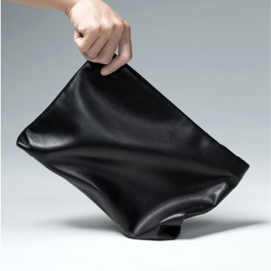 High Quality Soft Lambskin Leather Pouch Tablet Handbag Sleeve Case, Size: 29.5 x 19cm