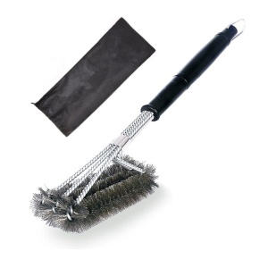 18-inch Steel Wire BBQ Grill Cleaning Brush