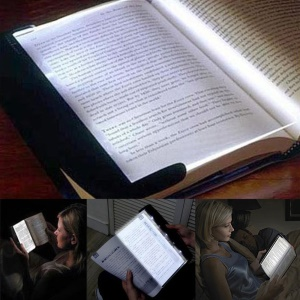LED Panel Reading Light Transparent Light Panel Book Reading Lamp Read Panel