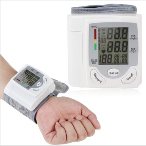 CK-101S Blood Pressure Wrist Monitor Accurately Detects Blood Pressure Heart Rate and Irregular Heartbeat