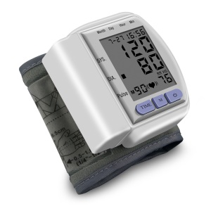 CK-102S Automatic Wrist Blood Pressure Monitor Detects Systolic Blood Pressure, Diastolic Blood Pressure and Pulse