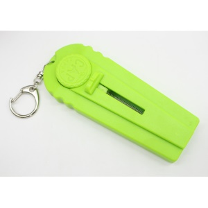 Portable Beer Bottle Opener Flying Cap Zappa Drink Opening Opener Cap Launcher - Green