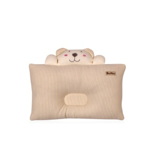 BEST BABY Cartoon Bear Shape Head-shaping Pillow for Baby - Khaki