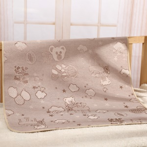 BEST BABY Summer Cool Sleeping Mat Ice Silk Pad, Size: 58 x 76cm (MH5013) - Style A