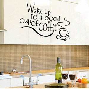 English Characters Pattern Wall Stickers Removable DIY Decal Home Decor, Size: 35 x 25cm