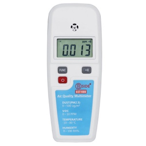 BSIDE EET100 LCD Air Quality Multimeter Tester Dust PM2.5 VOC Temperature Humidity Detector