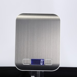 5KG/0.1g Digital Scale Electronic Kitchen Food Scale [Support OEM/ODM Service] - Silver