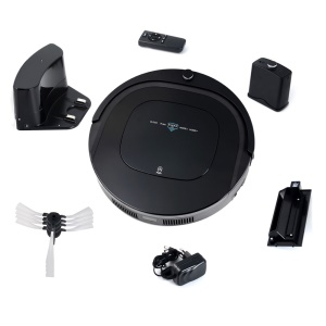Robotic Vacuum Cleaner Dry Wet Cleaning Mopping 3-In-1 (BL800) - Black / AU Plug