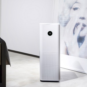 Contrôle de l'application XIAOMI Mi Air Purifier Pro OELD Display Smart Home Device - blanc / CN bouchon