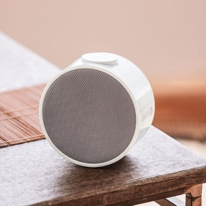 Xiaomi Portable Bluetooth 4.1 Round Music Alarm Clock - White