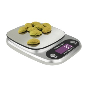 CH-305 10Kg/1g Digital LCD ABS Stainless Steel Kitchen Scale