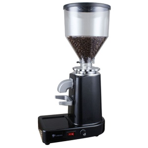 L-BEANS Electric Italian Type Coffee Beans Grinder with Powder Box SD-918L - Black / US Plug