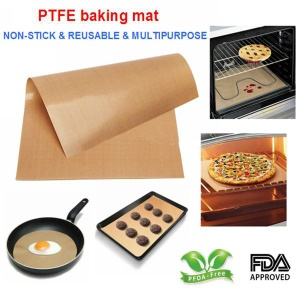 Non-stick Oil-proof Pastry Oven PTFE Baking Mat Washable with SGS & FDA Certification