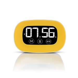 YUANGUANGHAO YGH-125 ABS ampio display LCD touch screen timer da cucina 2 pc / lotto - giallo
