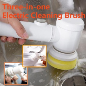 3 in 1 Magic Electric Cleaning Brush Multifunctional Brush for Bathtub Kitchen Carpet etc