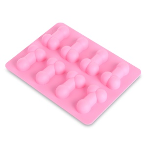 Creative 8-Grid Ice Tray Mold Jelly Ice-making Box Maker