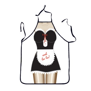 Funny Apron Bikini & Shorts Sexy Kitchen Apron Funny Creative Cooking Apron - Sexy Maid Dress