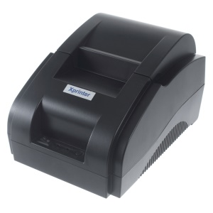 XPRINTER XP-58IIH 58mm USB Thermal POS Receipt Printer Printing Machine - EU Plug