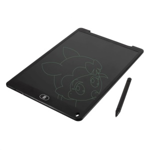 12 Inch LCD Writing Tablet Handwriting Pad Digital Drawing Tablet Electronic Tablet Board - Black