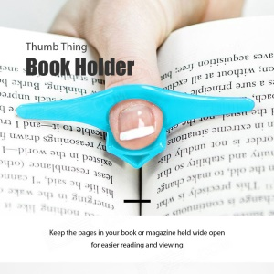 Unique Conveniente Thumb Cosa Book Holder