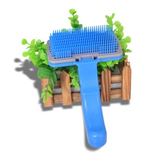 Soft Comfortable Plastic Brush for Pets - S