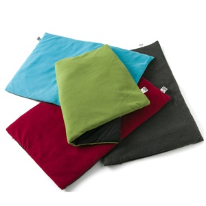 Washable Dog Mat Pet Cozy Bed Blanket (XL Size) - Wine Red