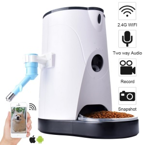 Wireless APP Control Automatic Smart Pet Feeder with Real Time Monitoring WiFi Camera - US Plug