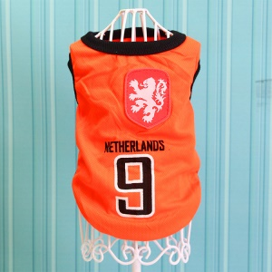 Size: 5XL / Orange Number 9 Netherlands