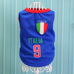 Size: 4XL / Blue Number 9 Italia