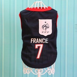 Size: M / Dark Blue Number 7 Franch