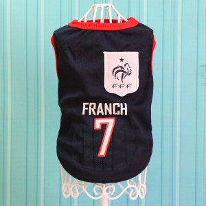 Size: XS / Dark Blue Number 7 Franch