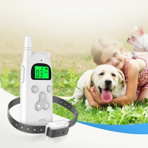 VINSIC VSAA006 Dog Training Collar 300 Meters Remote Control with LCD Display