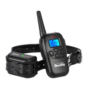 iT798 300 Meters Electric Dog Training Collar Rechargeable and Waterproof - EU Plug