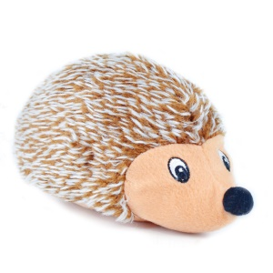 Hedgehog BB Sound Plush Toy Small Soft Doll for Pet Cat/Dog, 21cm