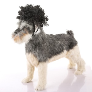 Funny Pet Costume Wig Curly Hair - Style B