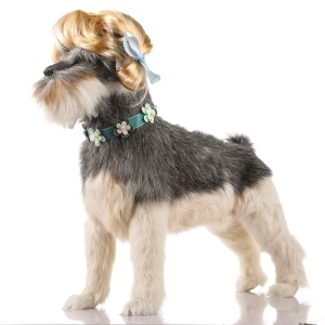Funny Pet Curly Hair Costume Wig Pet Headwear - Style E