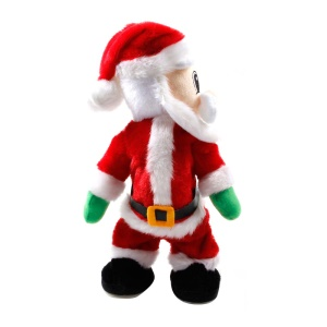 Noël Santa Claus Figure Twisted Hip Twerking Singing Dance Electric Santa Claus Toys