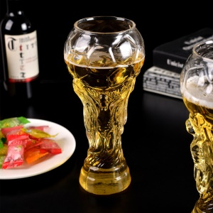 450ML Transparent 2018 Football FIFA World Cup Beer Glass Mug