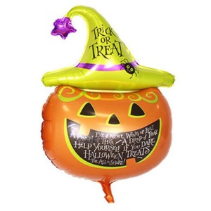 Pumpkin Head in Hat