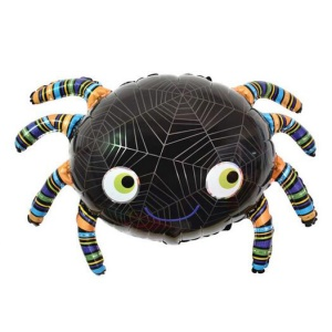 Aluminum Foil Balloon Kids Toy for Halloween Party Ornament - Spider
