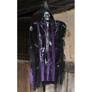 Voice Control Small Hang Ghost Halloween Horror Prop for Haunted
