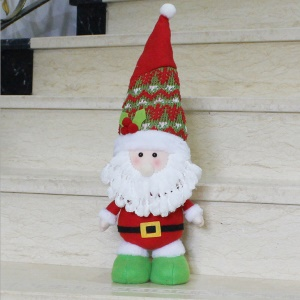 Lovely Standing Doll Christmas Ornament Decoration - Santa Claus