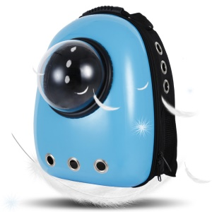 Space Capsule Bubble Pet Carriers Waterproof Handbag Backpack for Cat and Small Dog - Baby Blue