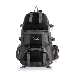 FREEKNIGHT 50L Large Backpack Outdoor Mountaineering Bag - Black