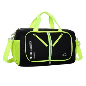 CTSMART Travel Duffel Bag Plegable Gym Sports Luggage Para Mujeres  Hombres - Negro