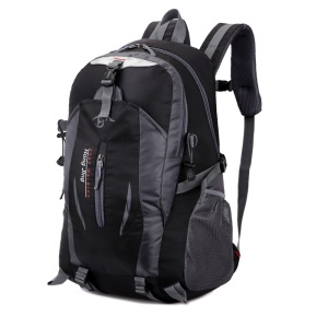 30L Large Capacity Riding Climbing Hiking Camping Cycling Backpack - Black